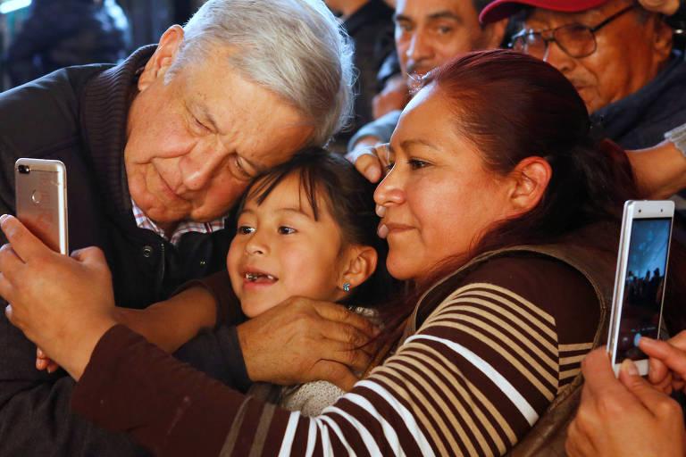 O esquerdista Andrés Manuel López Obrador tentará chegar pela 3ª vez à Presidência do México