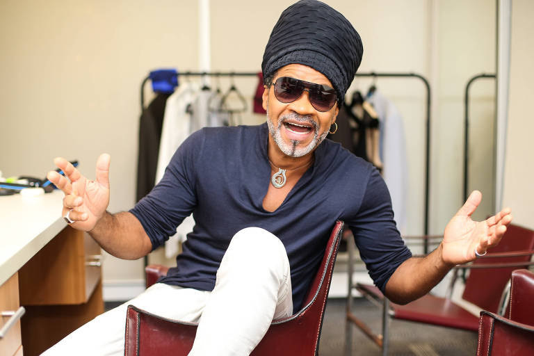 O músico Carlinhos Brown
