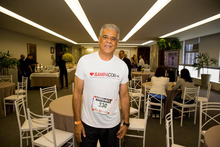 Jorge Damião, então secretário municipal de Esportes