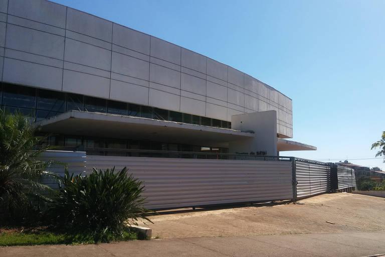 O teatro do Sesi de Ribeirão Preto, fechado desde 2012