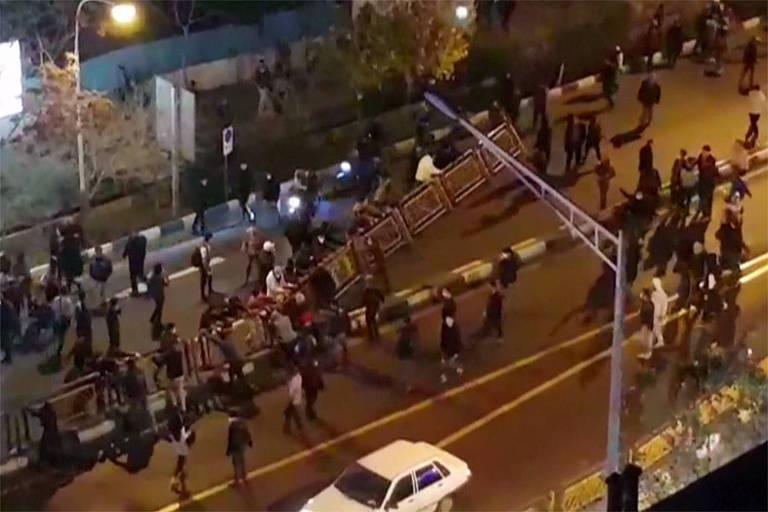 Manifestações no Irã