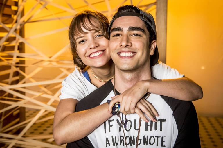 Verena (Joana Borgues) e Hugo (Leonardo Bittencourt), personagens de 'Malhação - Vidas Brasileiras'