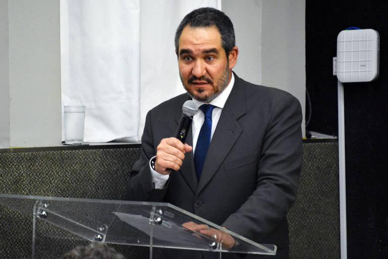 O diretor-presidente da Ancine, Christian de Castro Oliveira