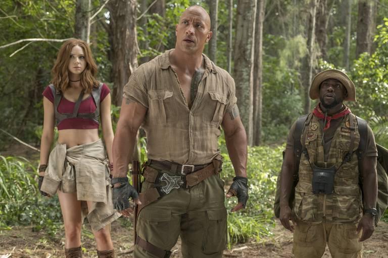 Confira cenas de 'Jumanji: Bem-Vindo à Selva'