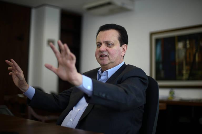 BRASILIA, DF, BRASIL, 03-01-2018, 10h00: O ministro da ciência tecnologia e Comunicações Gilberto Kassab durante entrevista em seu gabinete. (Foto: Pedro Ladeira/Folhapress, PODER) ***ESPECIAL*** ***EXCLUSIVO***