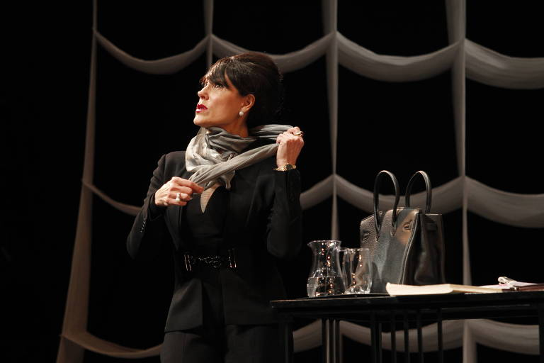 Maria Callas, por Christiane Torloni