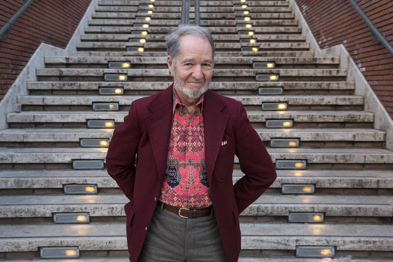 O professor americano e autor best-seller Jared Diamond