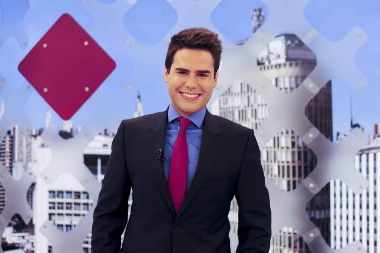 O apresentador Luiz Bacci