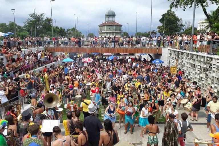 Pré-carnaval 2018 no Rio