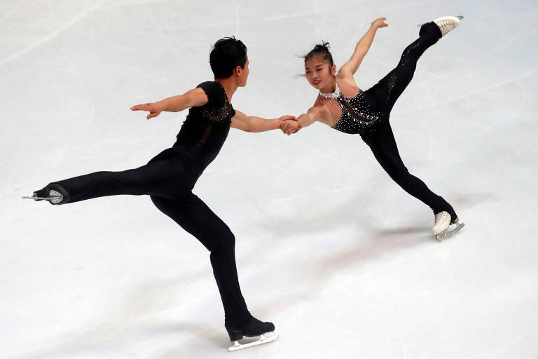 Patinadores norte-coreanos podem ir à Olimpíada