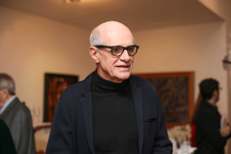 O ator Marcos Caruso