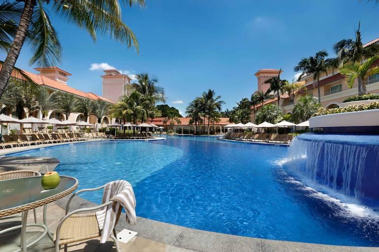 Piscina de resort em Campinas (SP)