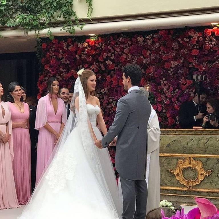 Casamento de Marina Ruy Barbosa  e Xande Negrão - Oficial