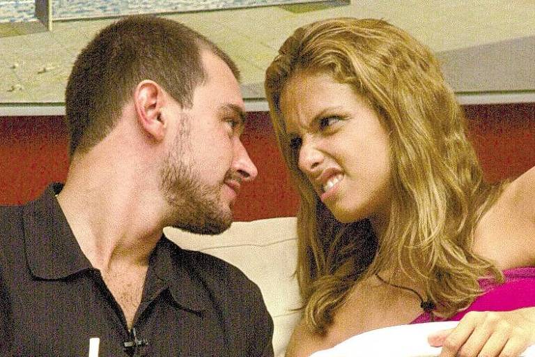 """Thyrso e Manuela, participantes do programa """"Big Brother Brasil"""", da Globo"""