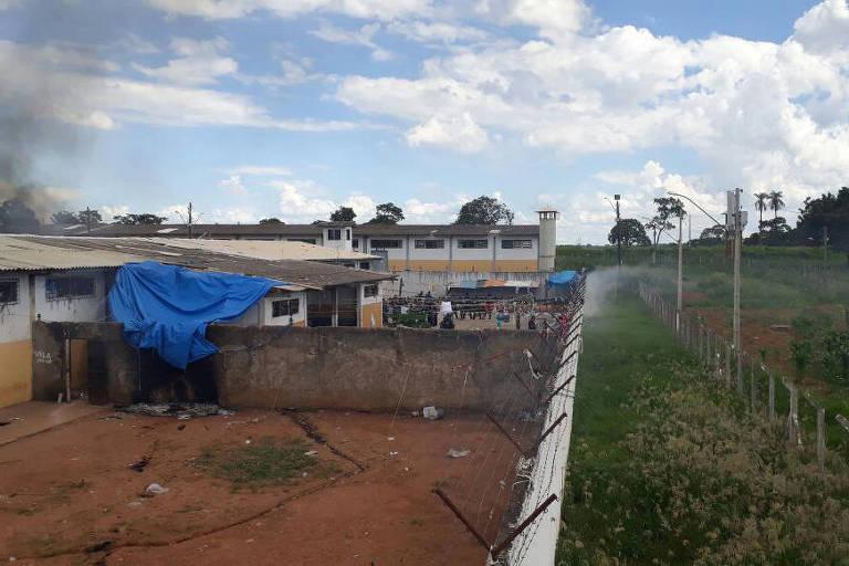 Colônia Agroindustrial no Complexo Prisional de Aparecida de Goiânia (GO), que passou por duas rebeliões no começo do ano.