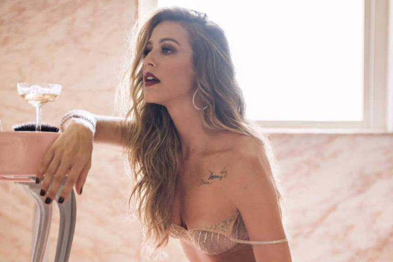 Luana Piovani, em ensaio para primeira capa da nova 'Playboy'