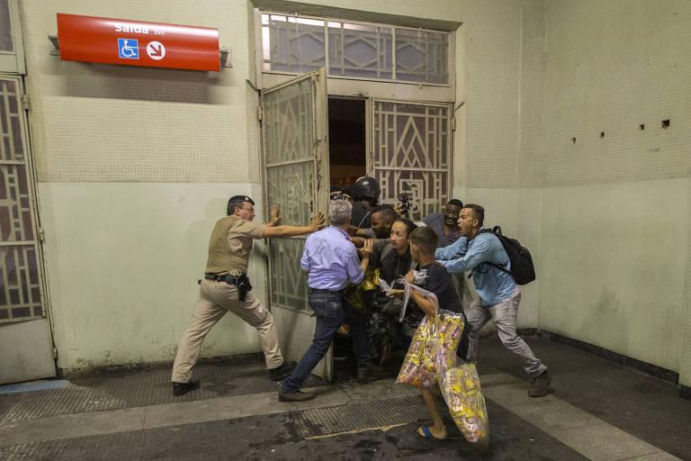 Protesto contra o aumento de tarifa em SP
