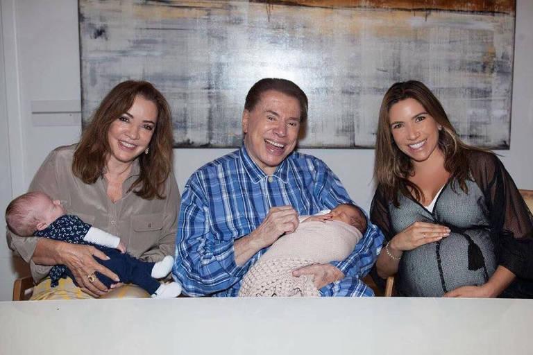 Silvio Santos em Família