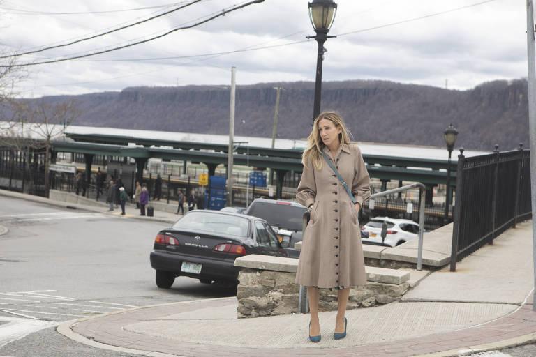 Sarah Jessica Parker, que é produtora executiva e protagonista de