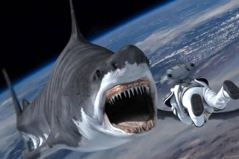 """Cena do filme """"Sharknado 5"""""""