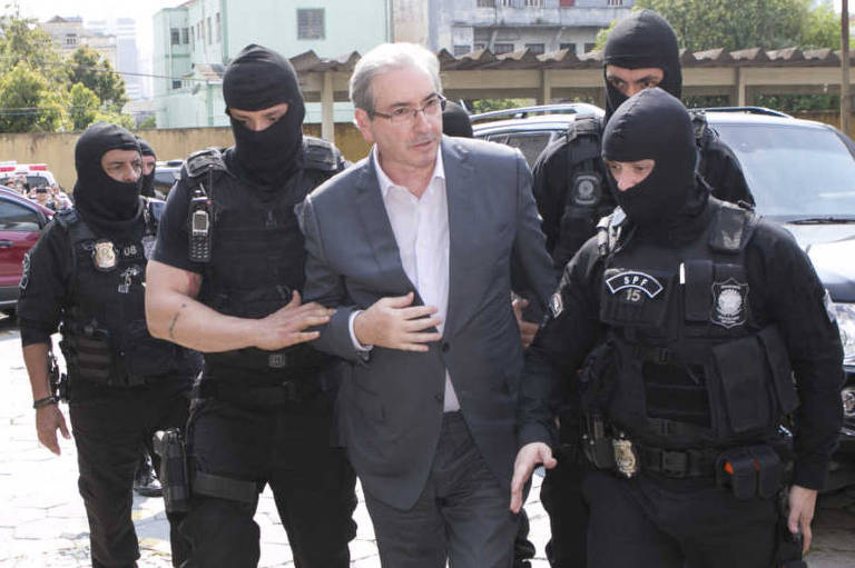 Eduardo Cunha é preso em Brasília