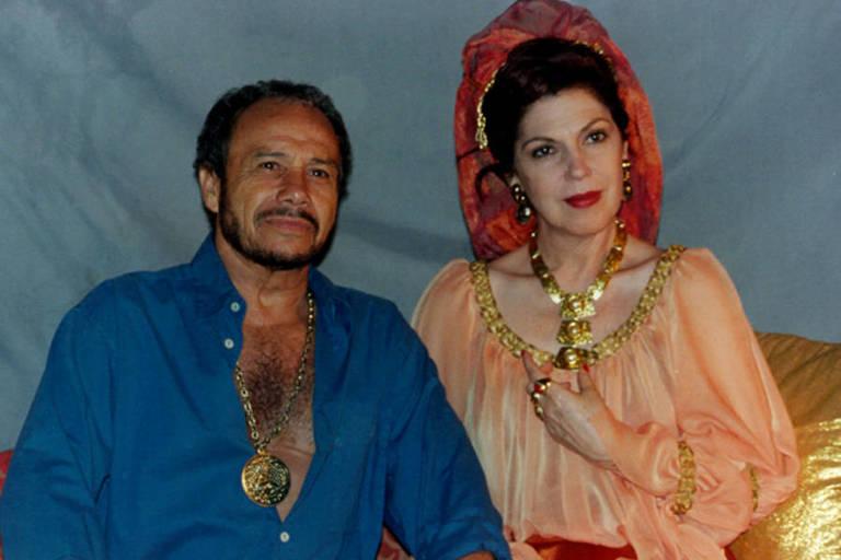 Pepe (Stênio Garcia) e Luzia (Ester Góes)