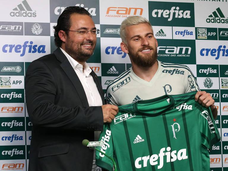 O meia Lucas Lima foi uma das principais contratações do Palmeiras para esta temporada – Luis Moura/WPP/Folhapress