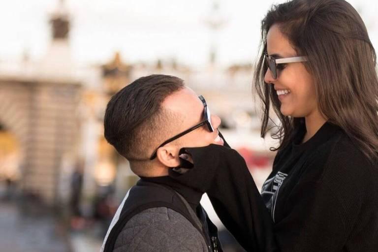 Emily Araújo e o namorado, o jogador Jota Amâncio