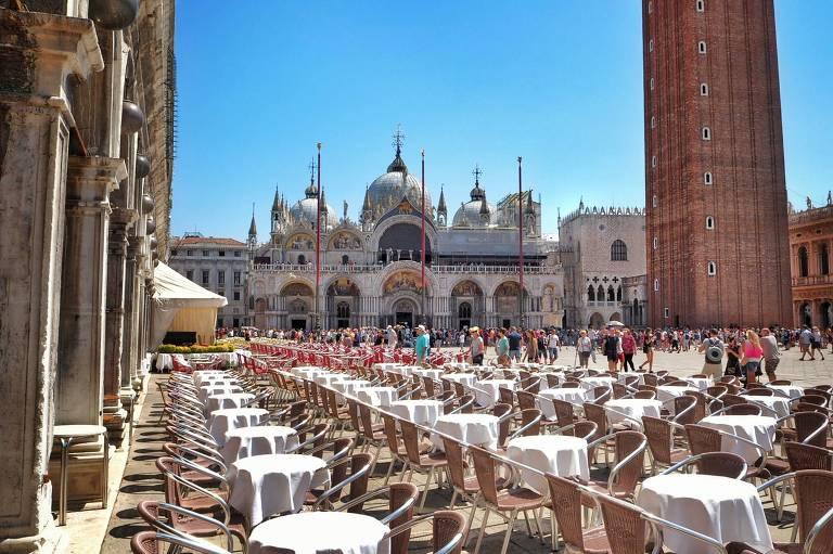 Praça San Marco em Veneza