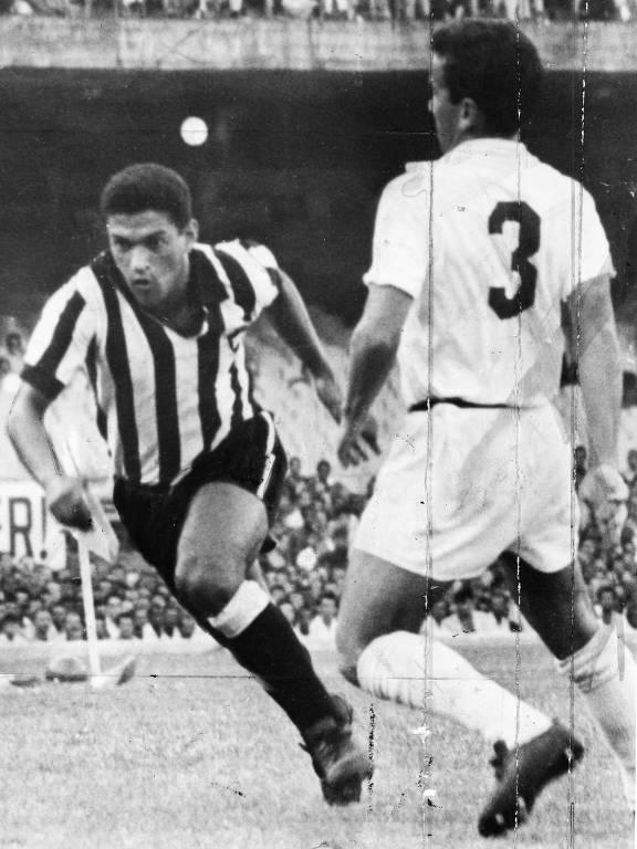 Garrincha, jogador do Botafogo