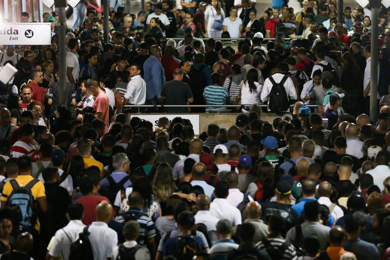 Greve dos metrovi�rios em S�o Paulo