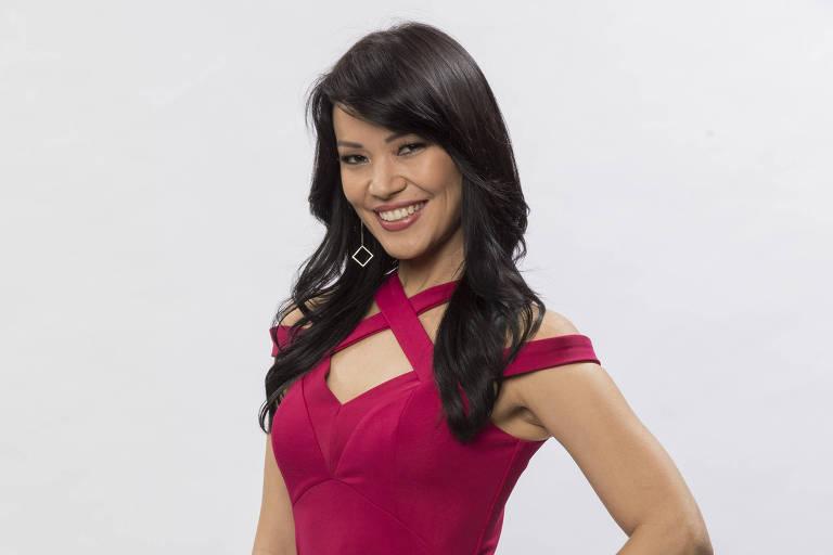 A apresentadora e atriz Geovanna Tominaga foi a vencedora da terceira temporada do reality 'Dancing Brasil'
