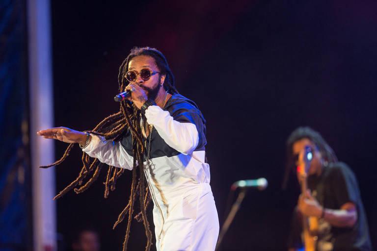 O rapper Rael é uma das atrações do evento no Grajaú