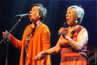 As Galvão fazem show em São Paulo para comemorar os 70 anos de carreira da dupla