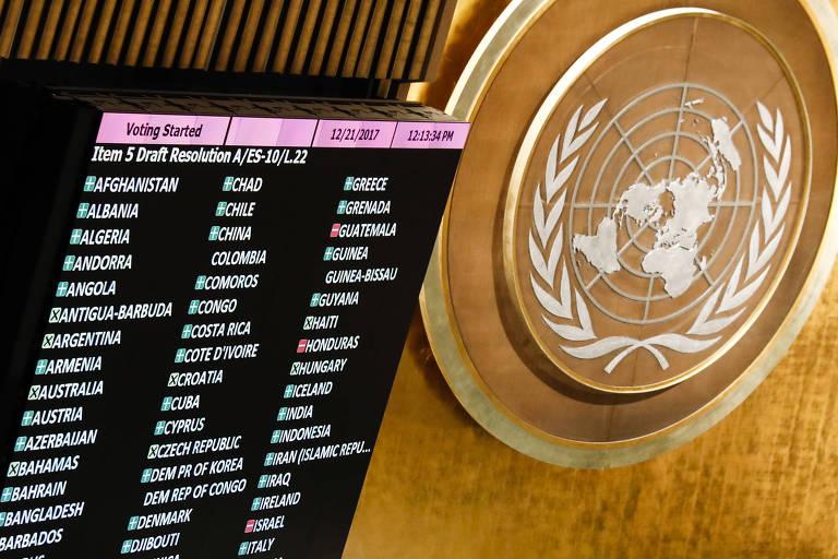 Plenário da Assembleia-Geral da ONU, em NY; funcionários denunciam abuso e assédio sexual