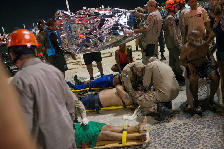 Atropelamento em Copacabana