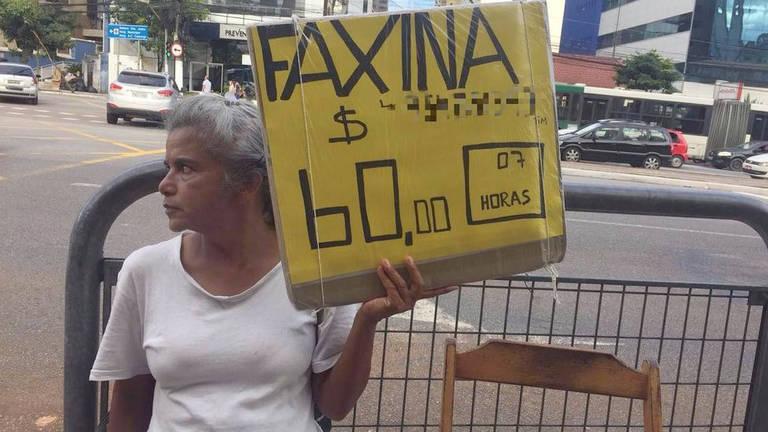 A advogada que virou faxineira em São Paulo