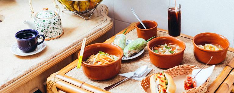 Restaurante vietnamita Bánh Mì Vietnam – Gabriel Cabral/Folhapress