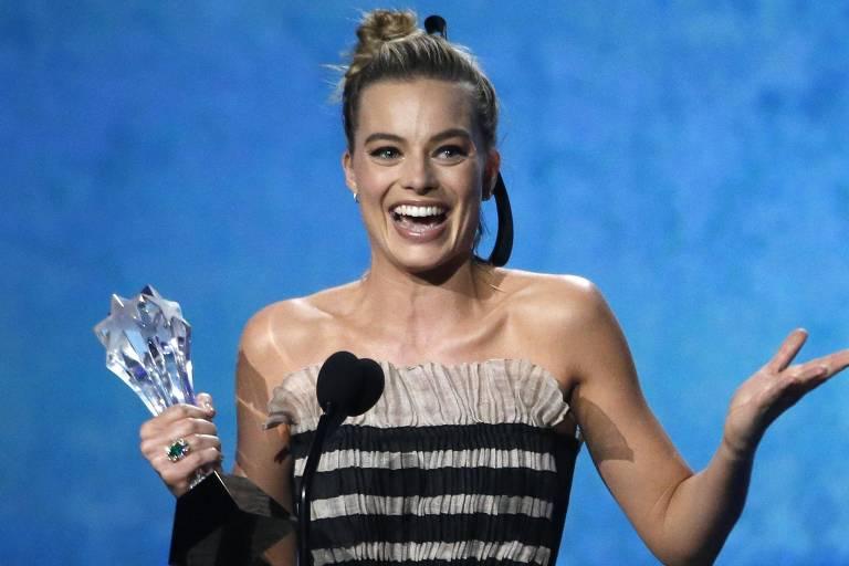 Após vencer no Critics Choice Awards, Margot Robbie foi nomeada no SAG como melhor atriz