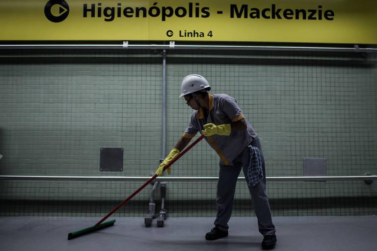Nova estação Higienópolis-Mackenzie