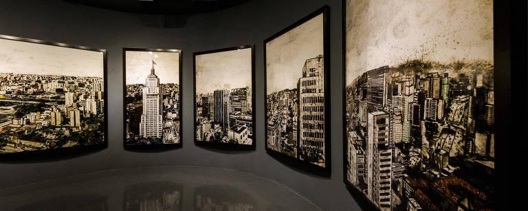 Andar do prédio contempla obra inédita e permanente do artista plástico Vik Muniz, em 360º – Rafael Roncato/Folhapress