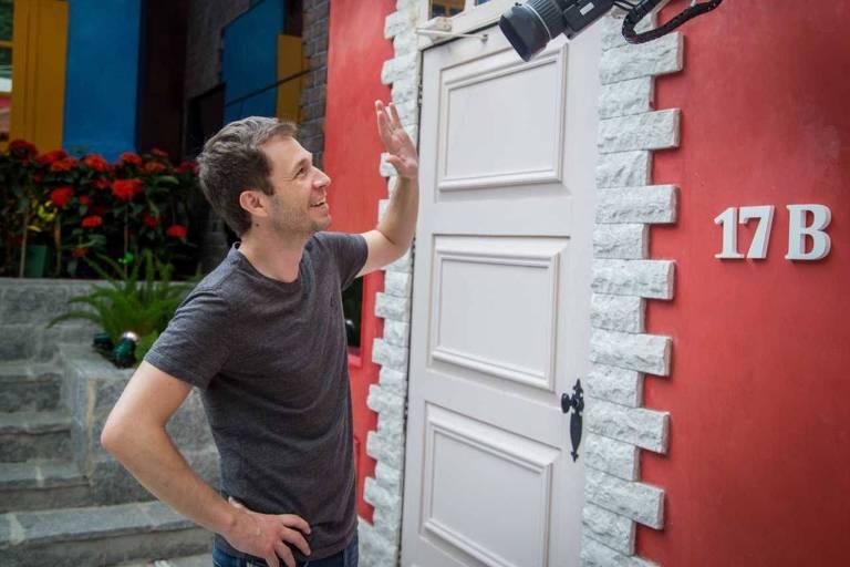 "O apresentador Tiago Leifert, que comandará o ""Big Brother Brasil"""