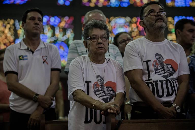 Missa homenageia vítimas e sobreviventes do incêndio na boate Kiss, ocorrido em 27/1/2013