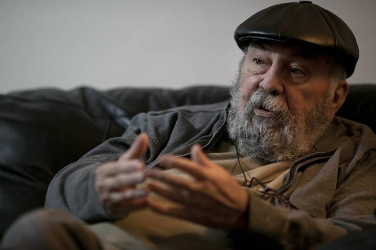 O sociólogo Francisco de Oliveira em 2013