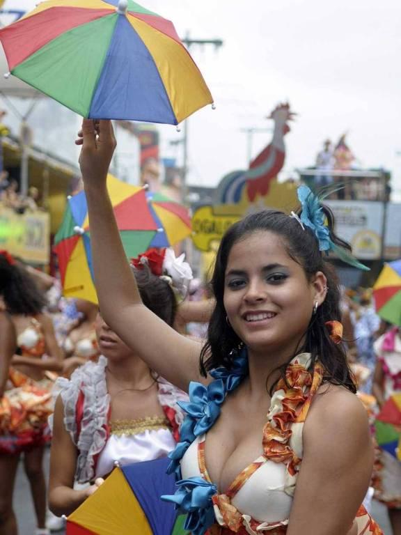 Pré-carnaval em Recife