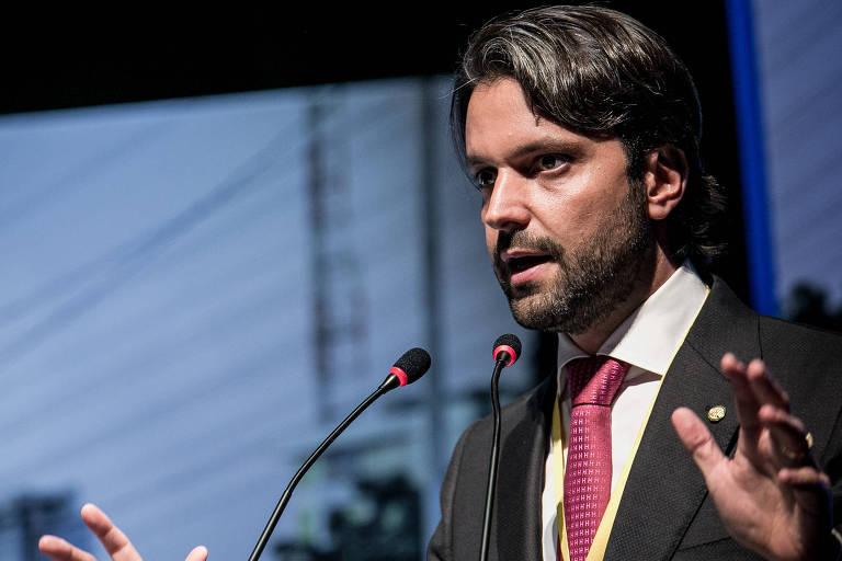 Ministro das Cidades do governo Michel Temer, Alexandre Baldy