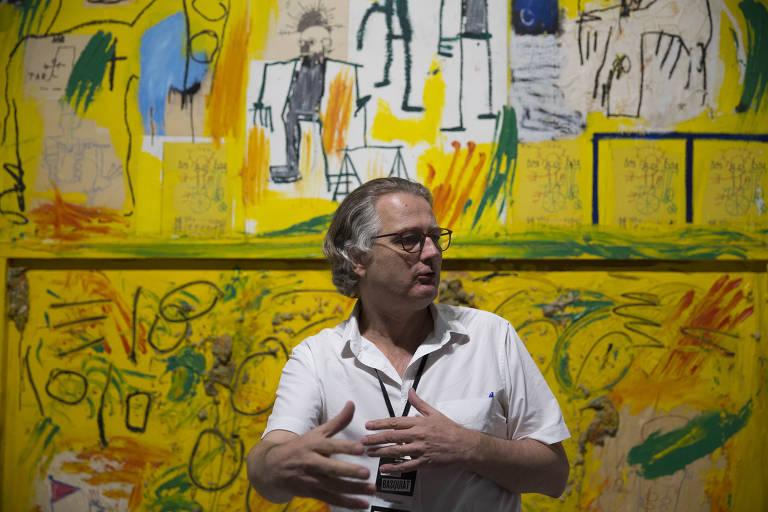 Exposição de Basquiat no CCBB
