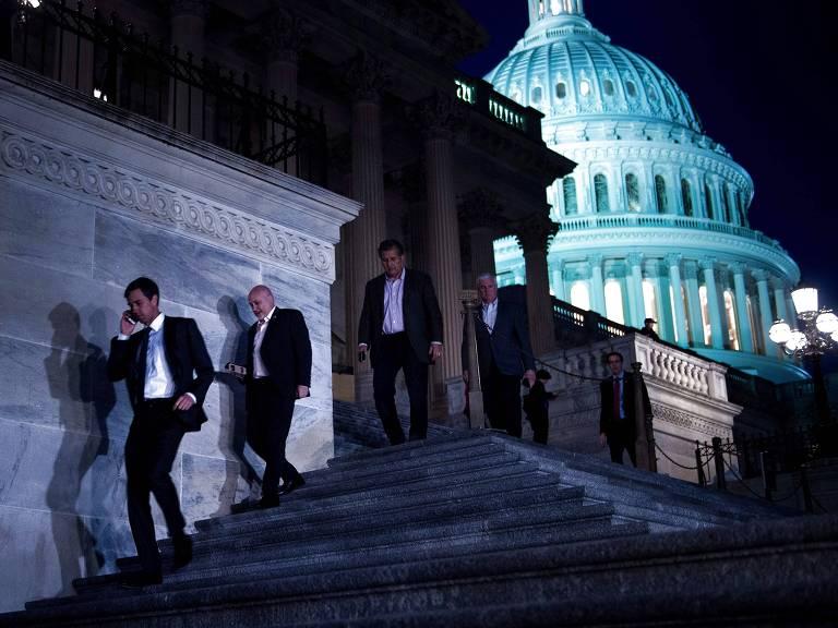 Prédio do Congresso em Washington – Brendan Simalowski/AFP