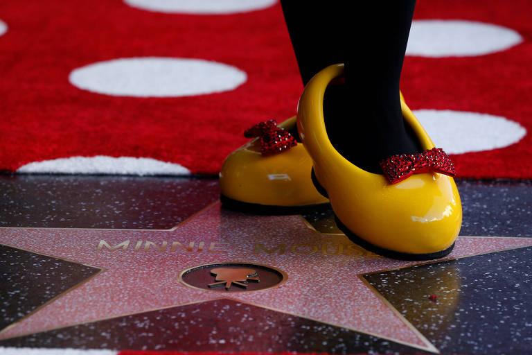 Minnie Mouse ganha estrela na Calçada da Fama