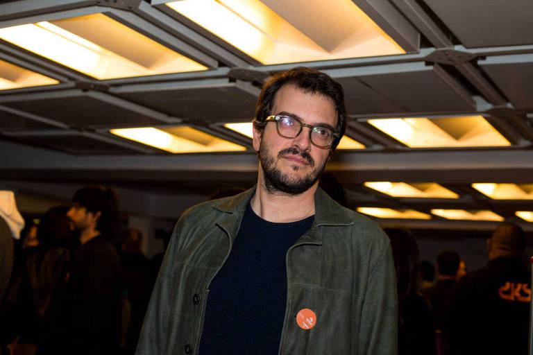 O produtor Rodrigo Teixeira, de 'Me Chame pelo Seu Nome', em SP